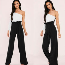Load image into Gallery viewer, Women's High Waist Stretch Casual Skinny Bandage Wide Leg Pants