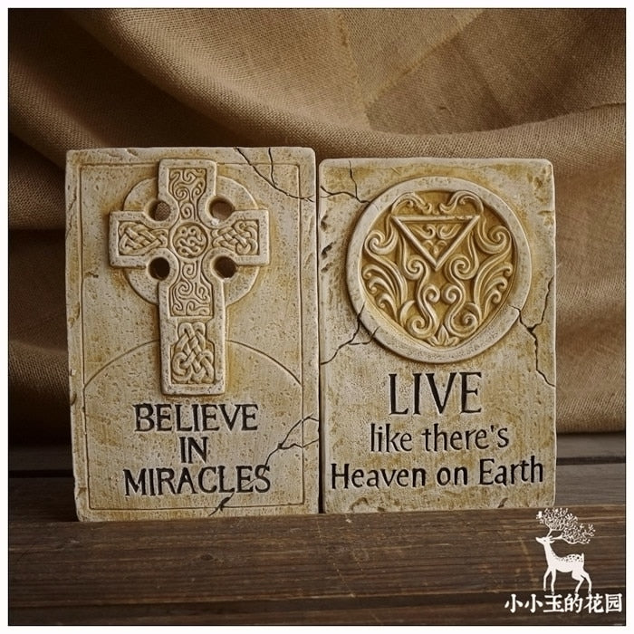 Christian Home Decore - 2pcs/set