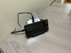 Wireless Charger with Socket, USB Ports, and Stand