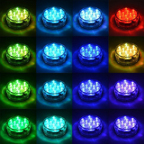 Submersible LED Pool Lights Remote Control (RF)-03