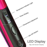 Portable Cordless Hair Straightener