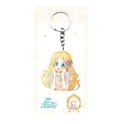 Pre-sale Who Made Me A Princess Acrylic Keychain
