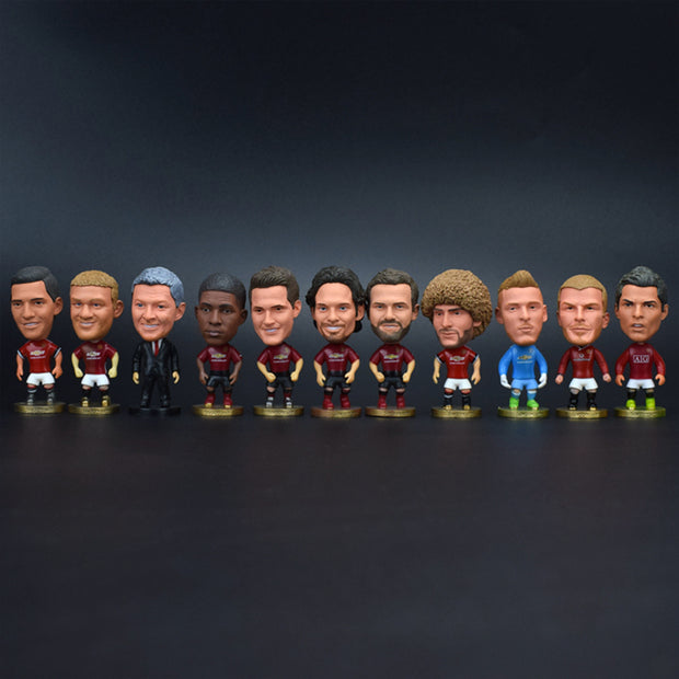 Manchester United Player Dolls Collection