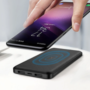 10000mAh Qi Wireless Charger Power Bank