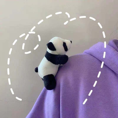 Panda Toy Brooch