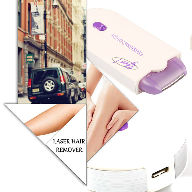 Induction Painless Hair Removal Shaver Lady Armpit Epilator