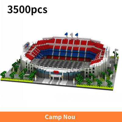 Football Stadium Building Blocks Kit