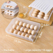 Auto Scrolling Egg Storage Container Box
