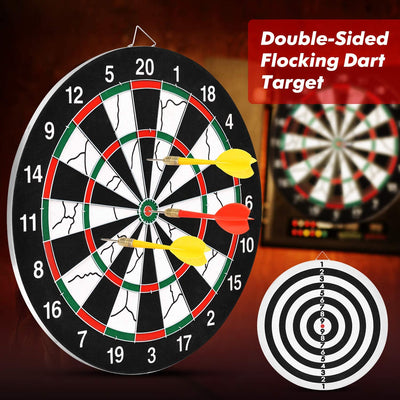 Professional Dartboard with 6 Darts