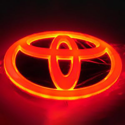 4D Car Logo Badge LED Light For The Front And Back