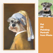 Pet Oil Painting Portrait from Photo