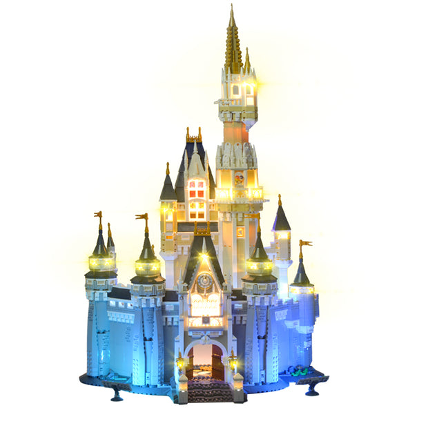 LED-Light Kit Compatible Lego Disney Castle(Lego not included)