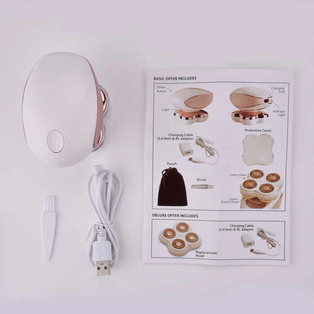 New Four-Head Instant Painless Body Hair Removal USB