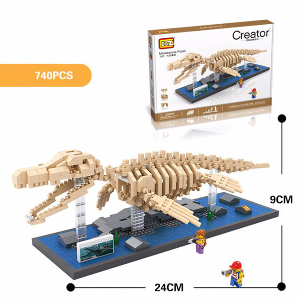 Dinosaur Fossil Bone Building Blocks
