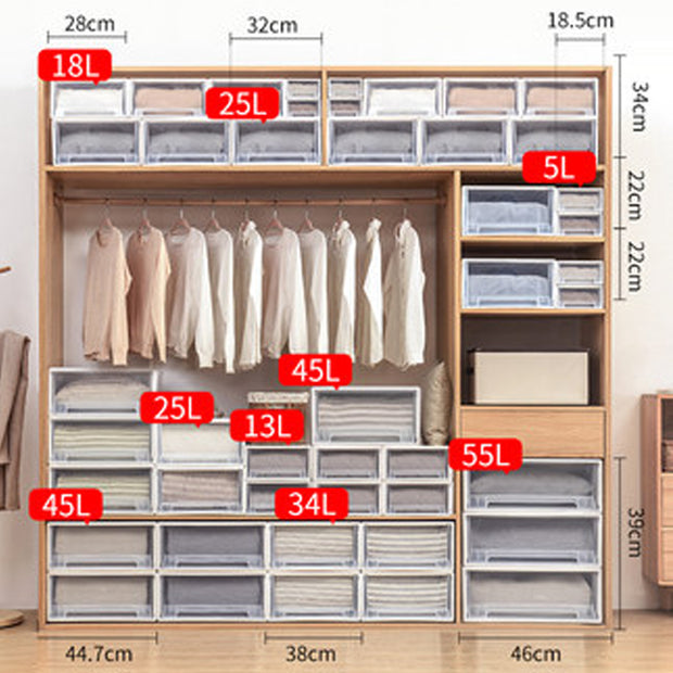 Wardrobe Storage Box