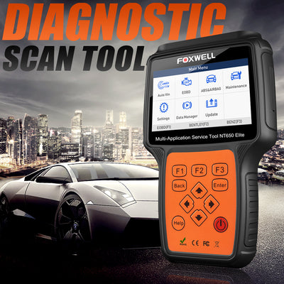 NT650 Elite Professional Car Diagnostic Tool OBD2 Scanner