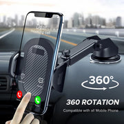 360 Mount Sucker Car Phone Holder in Car Stand