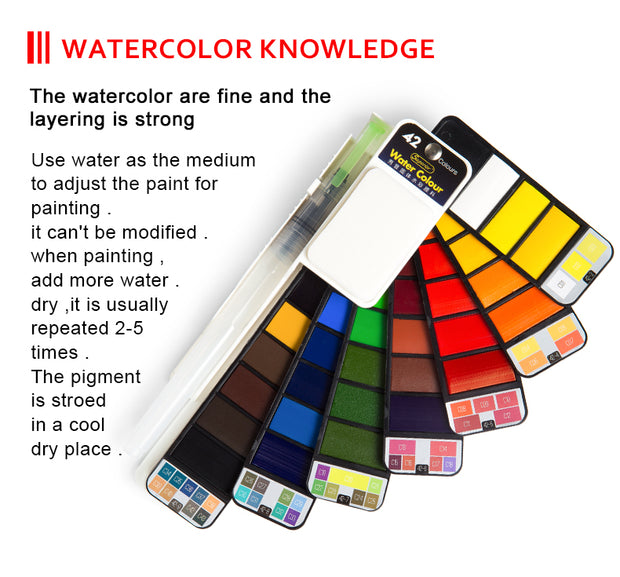 Solid Watercolor Paint