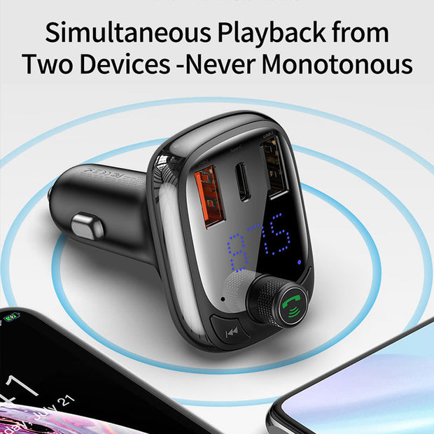 Bluetooth Handsfree Car MP3 Player Car Charger