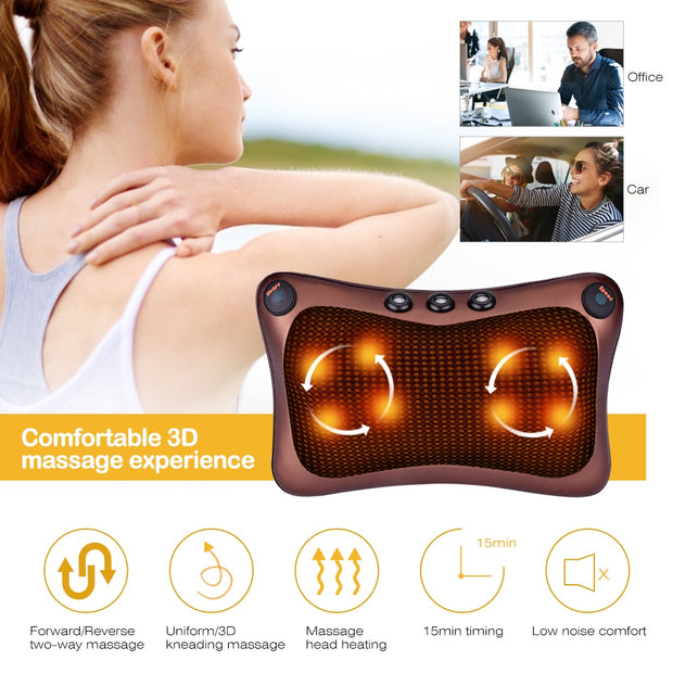 Neck Massager Pillow Cushion