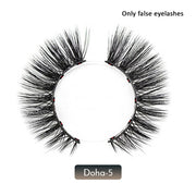 Magnetic False Eyelashes No Glue Full Eye Eyelashes Extension Kit