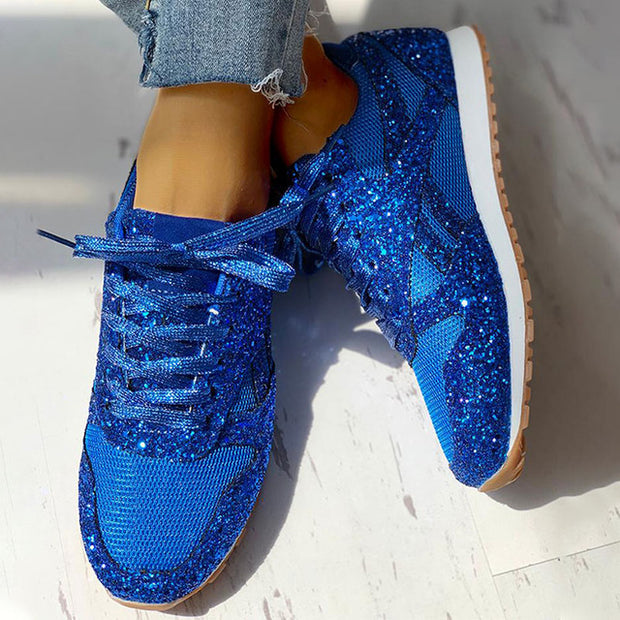 Crystal Shining Comfortable Sneakers