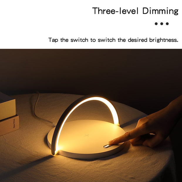 Wireless Charger Night Lamp