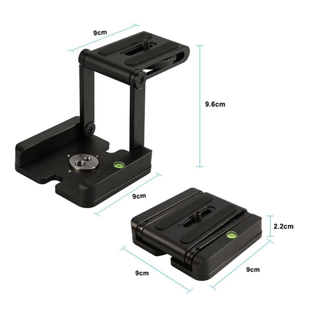 Foldable Tripod Stand Holder Compatible Slide Rail
