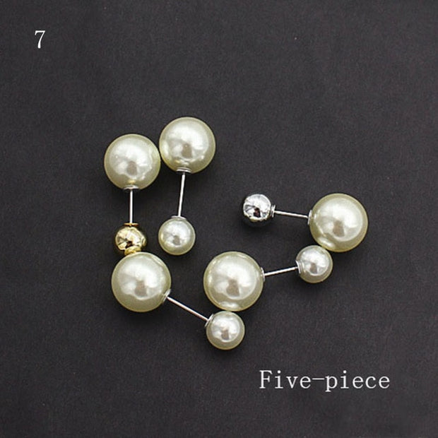 Anti-glare Pearl Brooch Pin
