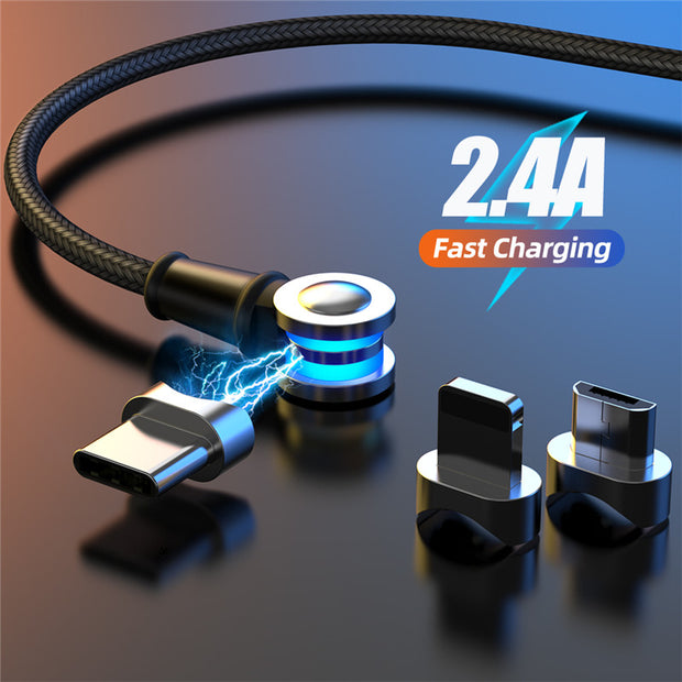 3in1 180 Degree Magnetic Charger