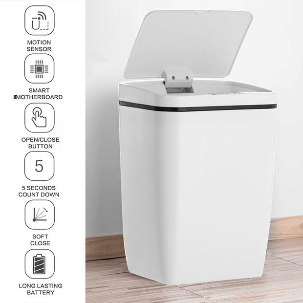 Eco-friendly Automatic Touchless Intelligent Trash