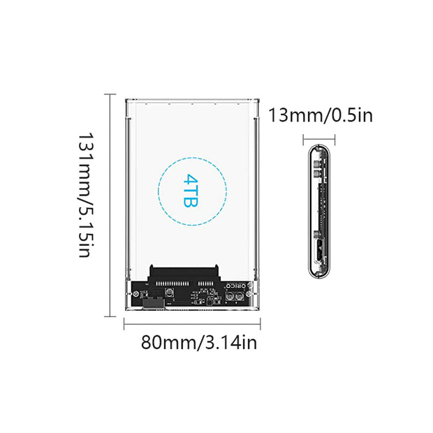 External Hard Drive Enclosure 🎉Buy 1 Free 1🎉