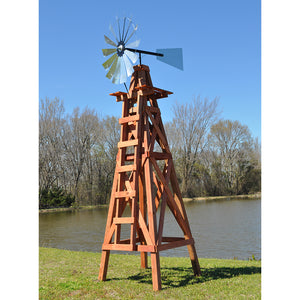 15' Windmill (plain rudder and wood stand)