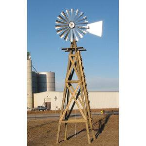 20' Windmill (plain rudder and wood stand)