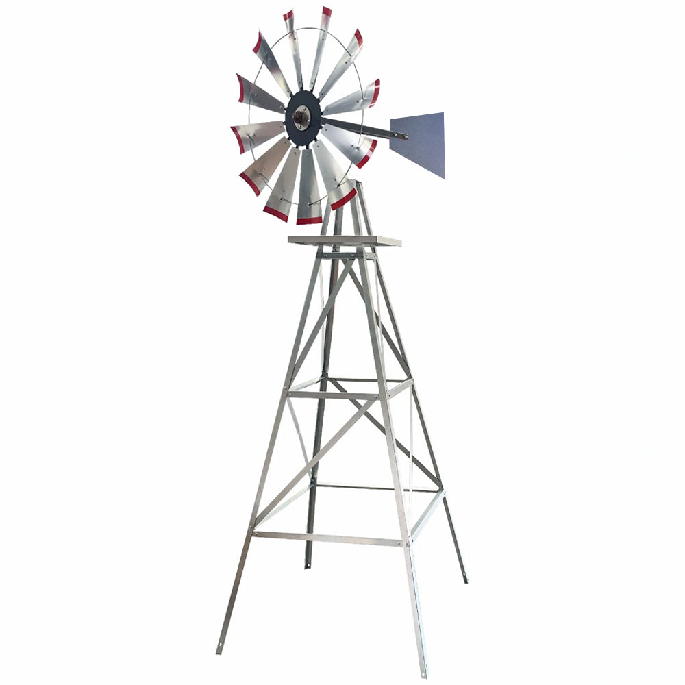 11' Windmill (plain rudder and metal stand)
