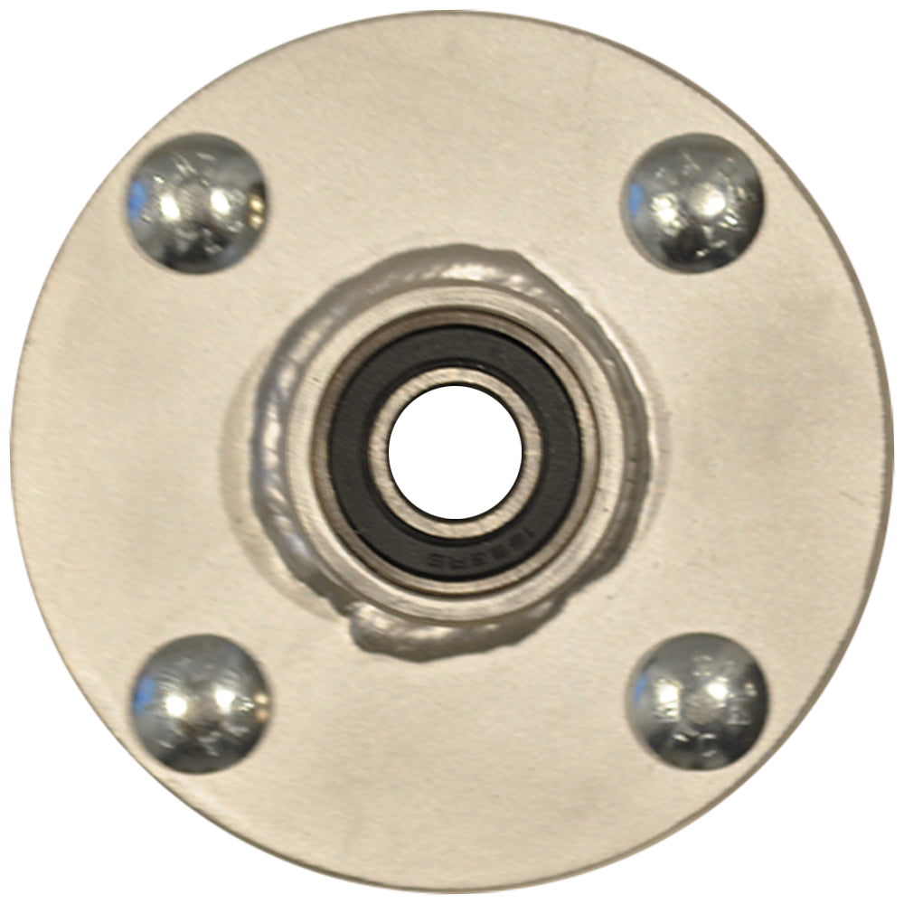 Hub w/ bearings, lock washers, and nuts - 30""