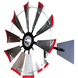 8' Windmill (plain rudder and metal stand)