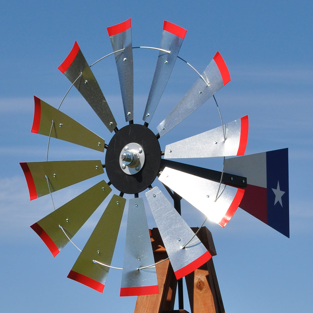 "38"" Head (Texas flag rudder)"