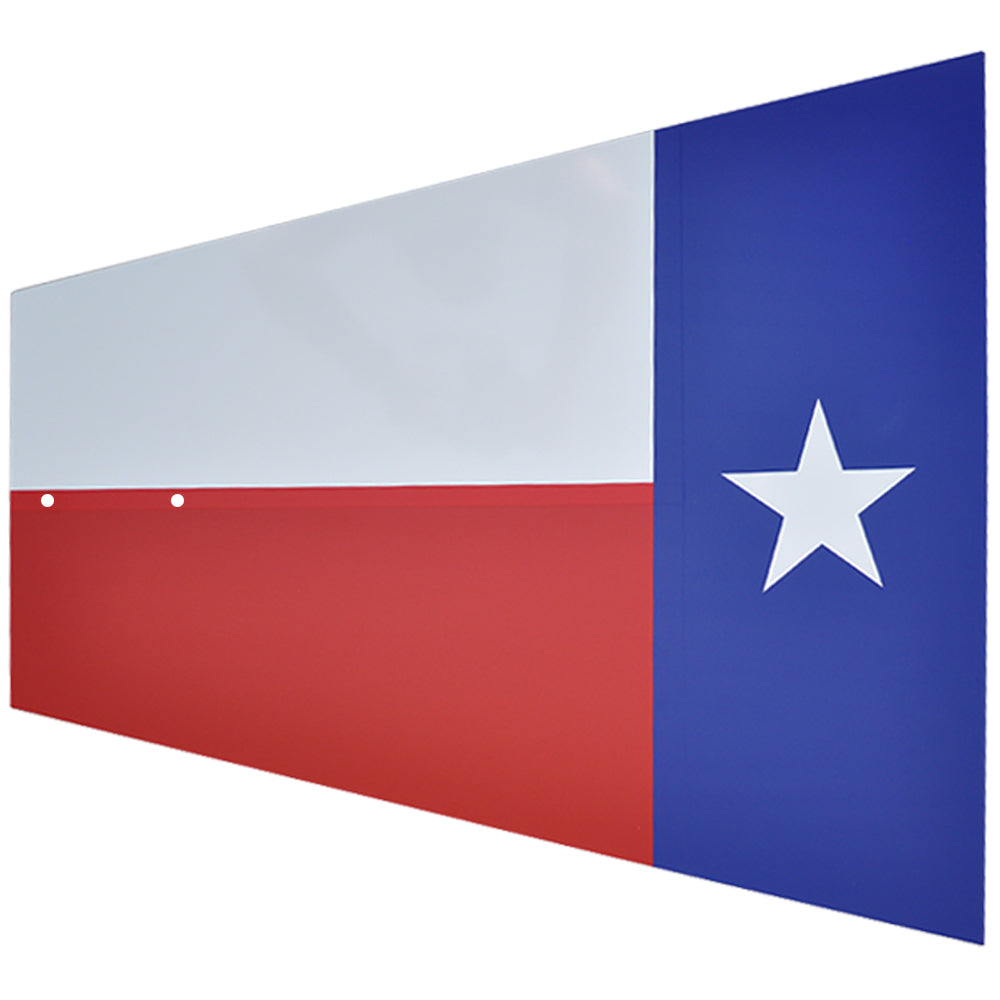 Tail - Texas Flag - 60""