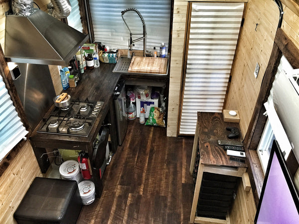 Mario's Tiny House Kitchen