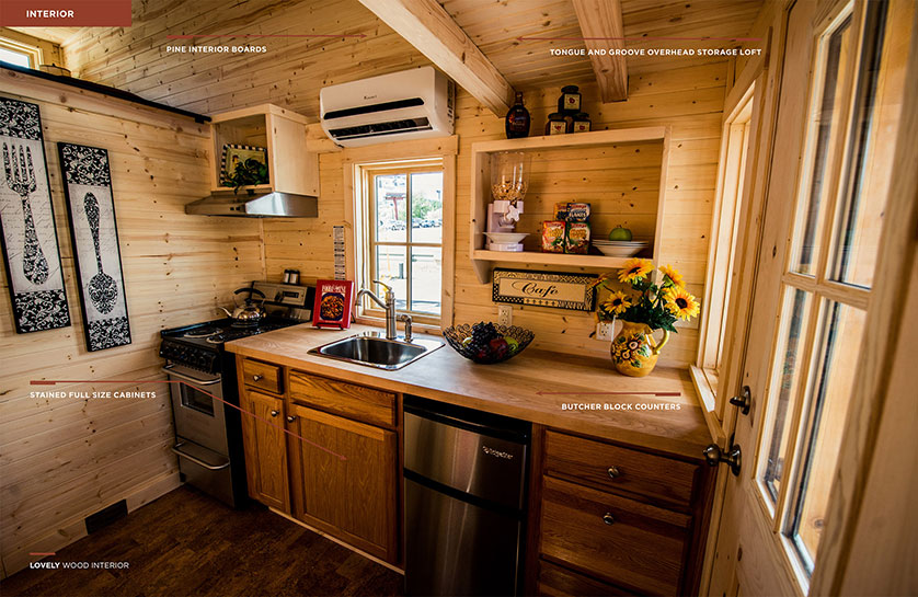 Customize your tiny house rv tiny house on wheels options for Tiny house kitchen layout