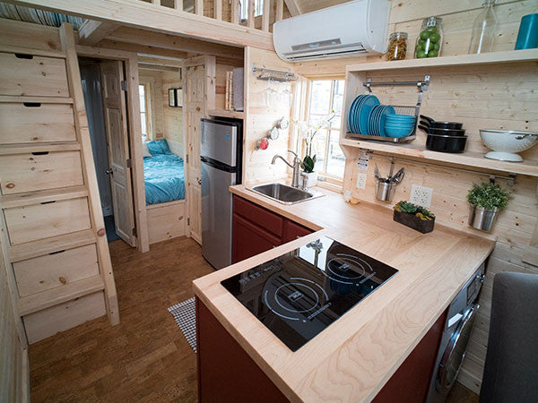 tiny house rv kitchens the - Tiny House Washer Dryer