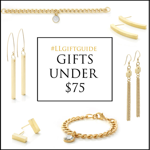 holiday gift guide - under 75 - contemporary jewelry - made in canada