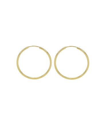 HOOPS | Solid Gold (16mm)