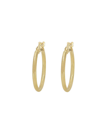 HOOPS | Solid Gold (30mm)