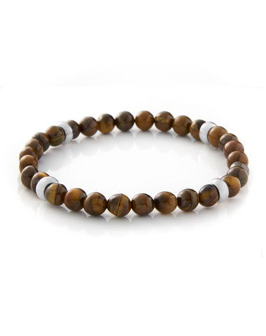 4 POINT (6mm) - TIGER EYE