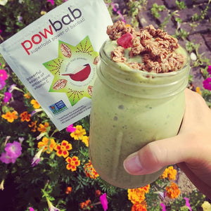 Morning Baobab Kale Smoothie