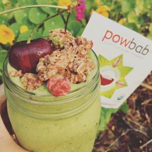Fruity Green Baobab Smoothie