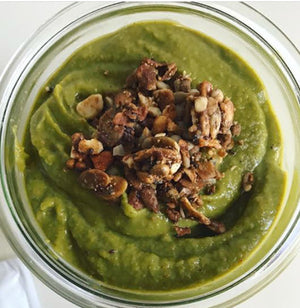 Green Bean Squashed Baobab Smoothie