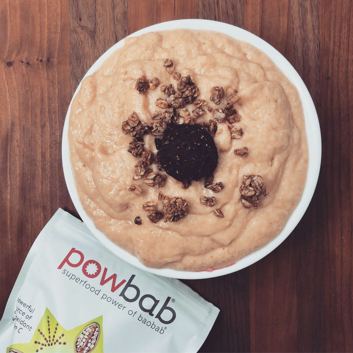 Puffy Baobab Smoothie Bowl